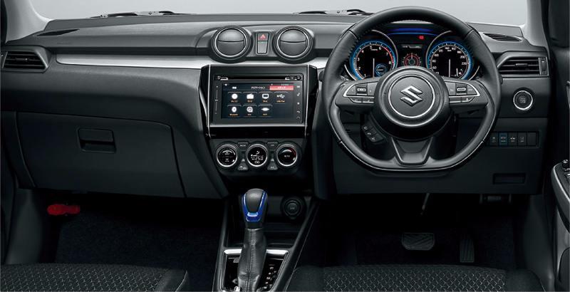 New Suzuki Swift Hybrid Interor