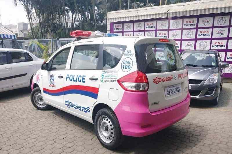 Pink Hoysala Ertiga
