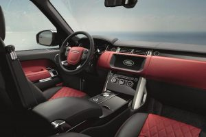Range Rover SV Autobiography Dynamic interior