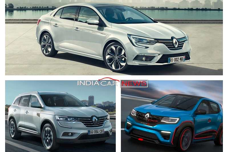 Renault Cars at Auto Expo 2018