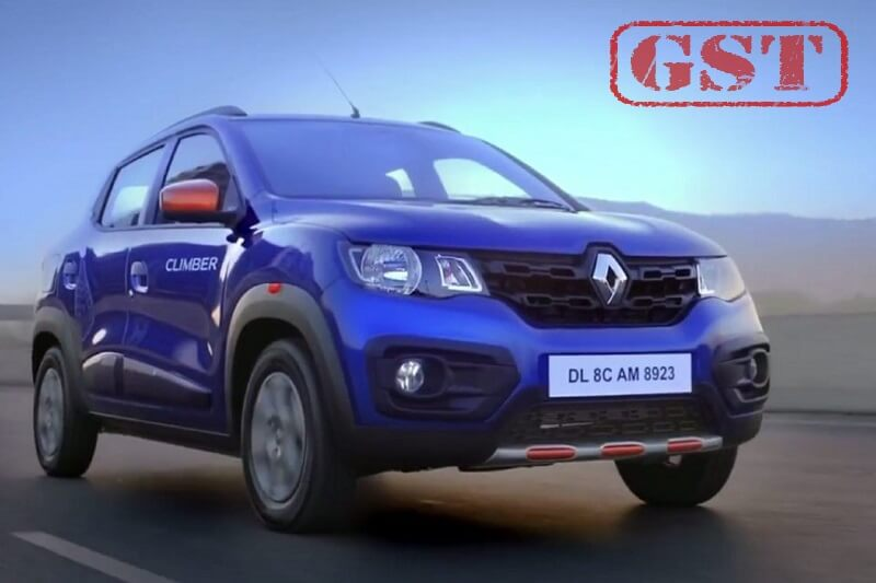 Renault India GST Price Cut