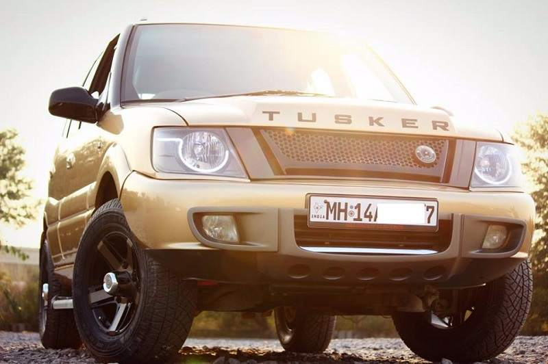 Tata Safari Tusker Modified Front