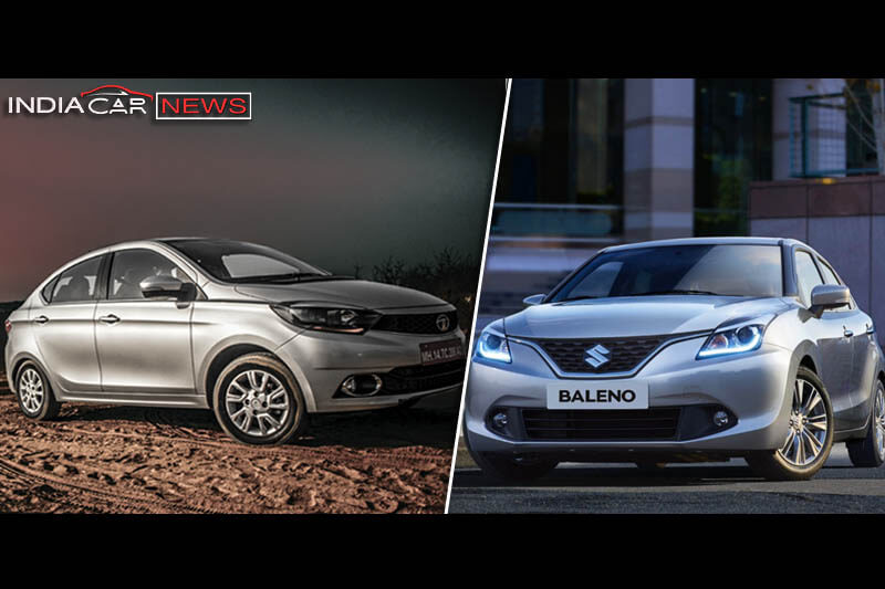 Tata Tigor Vs Maruti Baleno Engine