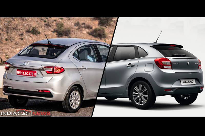Tata Tigor Vs Maruti Baleno Features