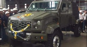 Tata defence vehicle