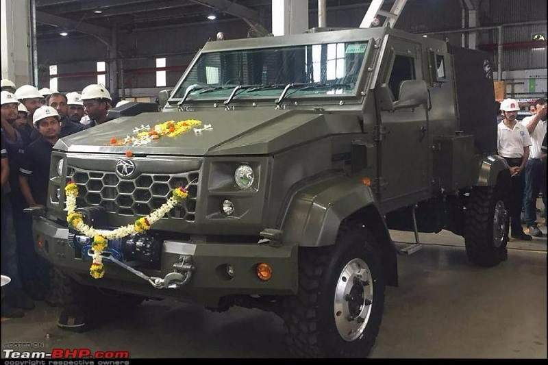 Tata defence vehicle