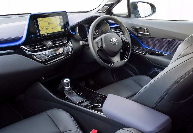 Toyota chr 2018 interior dede14 for Toyota chr interieur