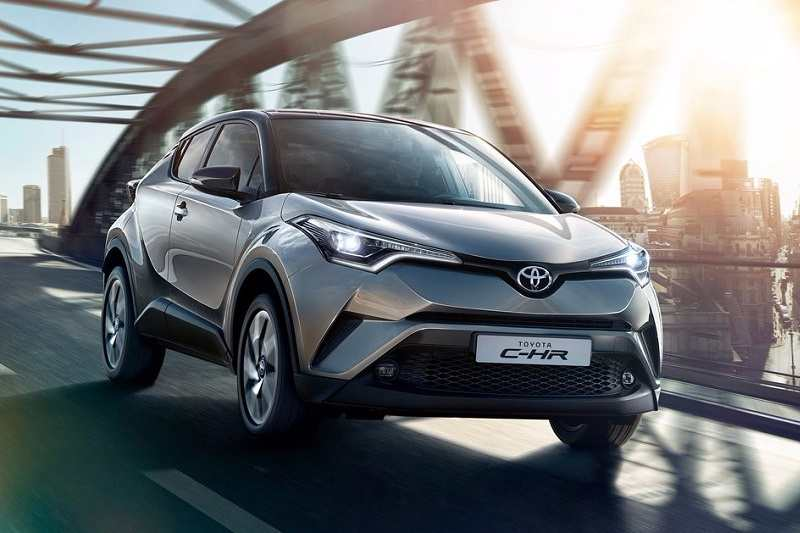Toyota CH-R crossover India