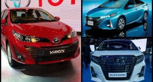 Toyota Cars At Auto Expo 2018