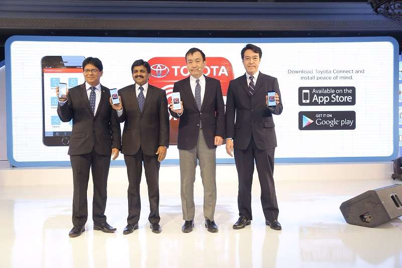Toyota Connect Launch