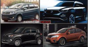 Upcoming Mahindra Cars at Auto Expo 2018