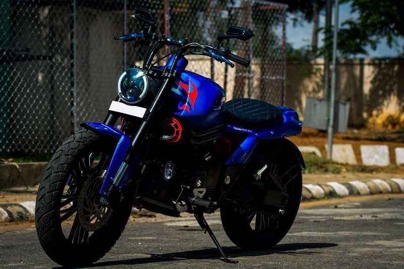 Modified Bajaj Avenger 220 Pictures & other details  Modified Bajaj ...