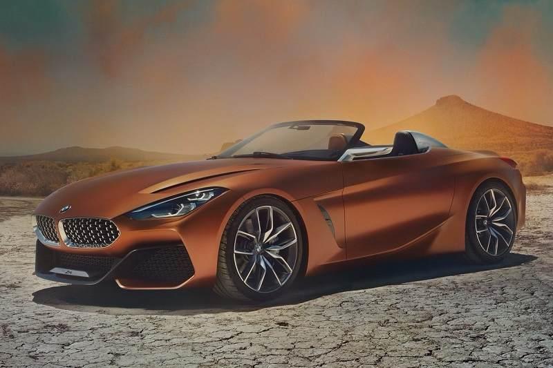2017 BMW Z4 Concept side profile