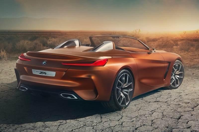2017 BMW Z4 Concept side rear