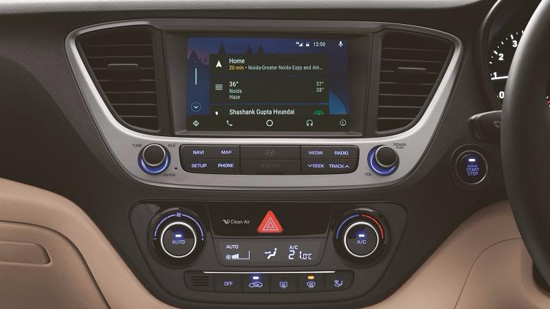 Hyundai Verna 2018 Touchscreen