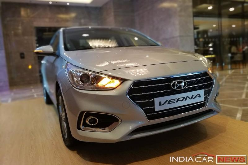 2018 Hyundai Verna Exterior Interior Images Features Details