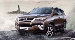 2017 Toyota Fortuner India