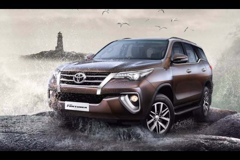2017 Toyota Fortuner India