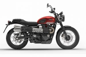 Triumph Street Scrambler India colours