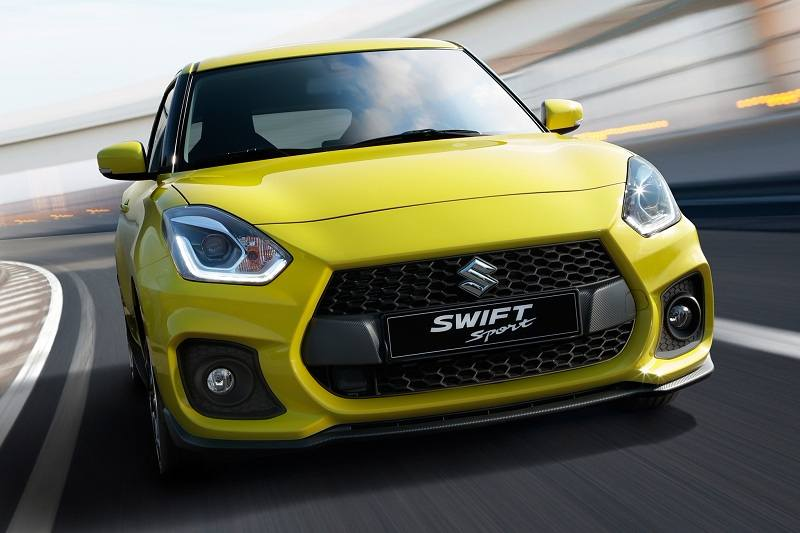 2018 Maruti Swift Sport India