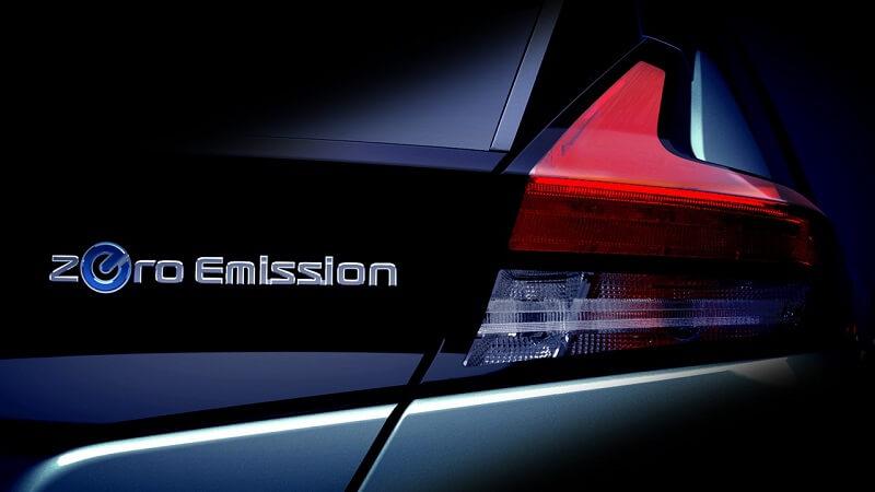 2018 Nissan Leaf taillamp teaser