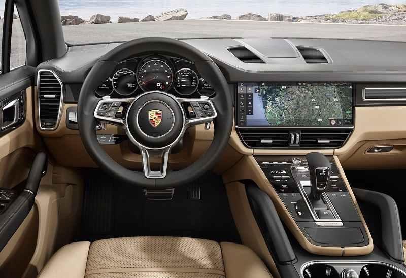 2018 Porsche Cayenne India interior