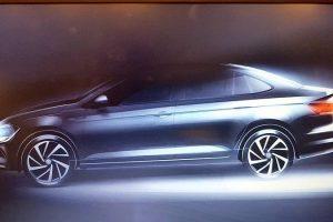 2018 VW Virtus Teaser