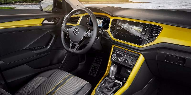 2018 Volkswagen T-ROC Revealed Interior