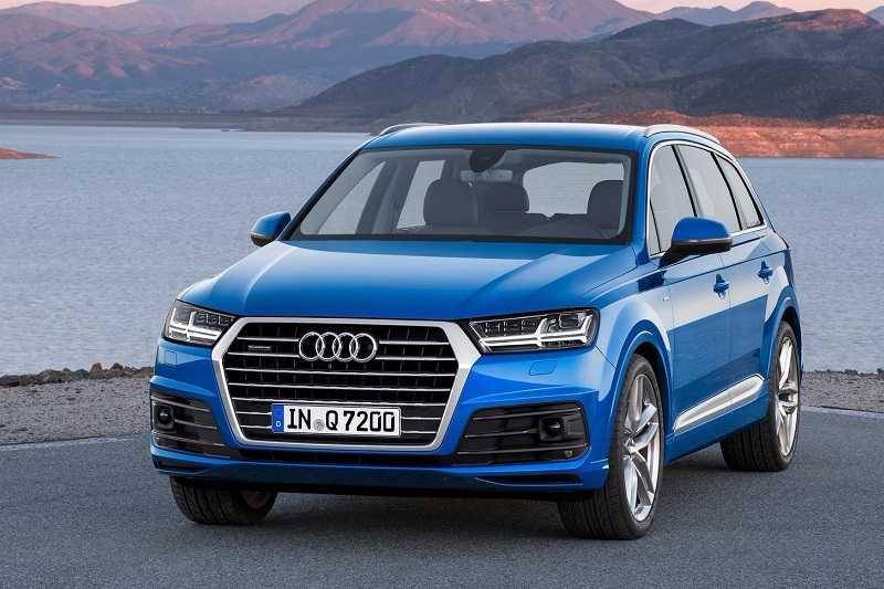 Image result for Audi Q7 Petrol variant unveiled in India at Rs 67.76 lakh