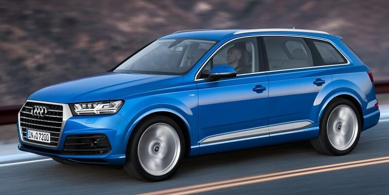 Audi Q7 petrol engine specifications