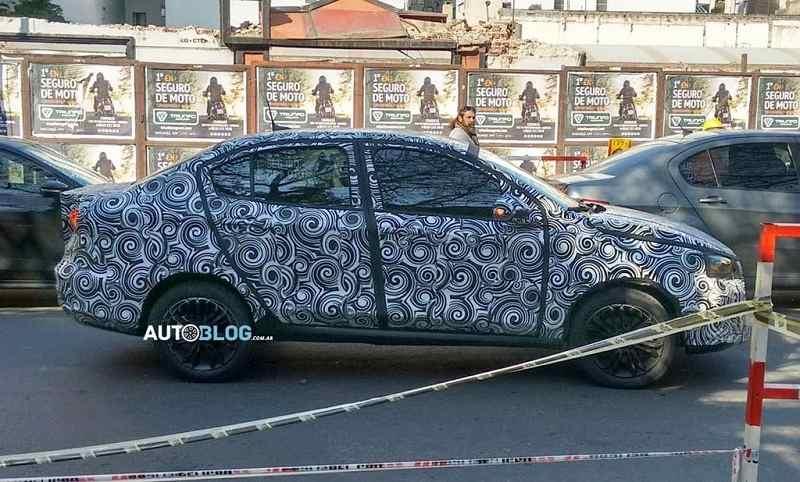 Fiat X6S Sedan Spied Testing