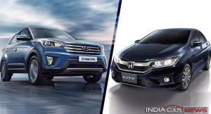 Hyundai Creta Vs Honda City