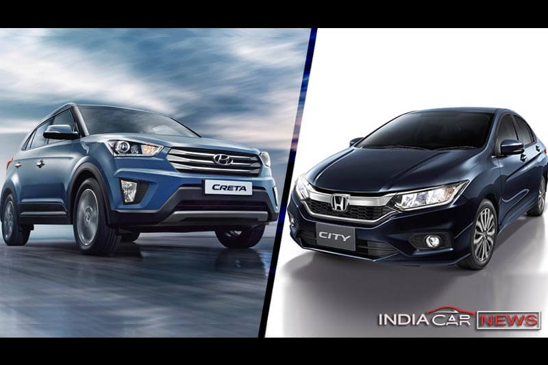 Hyundai Creta Vs Honda City