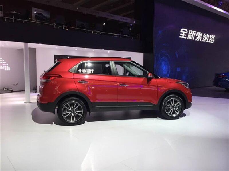 Hyundai ix25 facelift Side