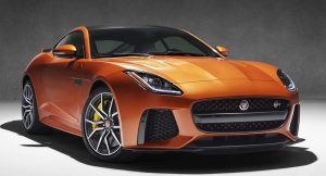 Jaguar F Type SVR India Coupe