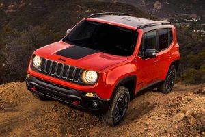 Jeep Renegade Launch Interior