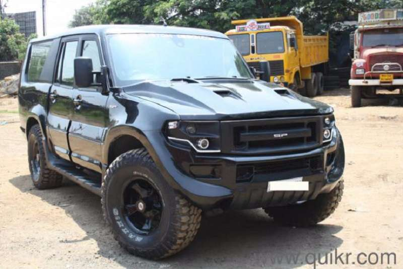 Mahindra Scorpio SP Customs