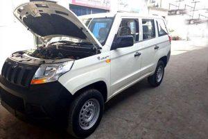 Mahindra TUV300 Plus Spy Image