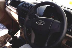 Mahindra TUV300 Plus Spy Image Interior