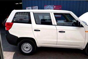 Mahindra TUV300 Plus Spy Image Side