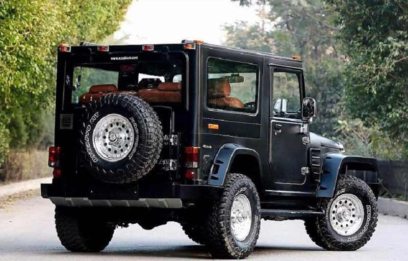 Hummer Models List >> Top 5 Best Modified Mahindra Thar - Pictures & Details
