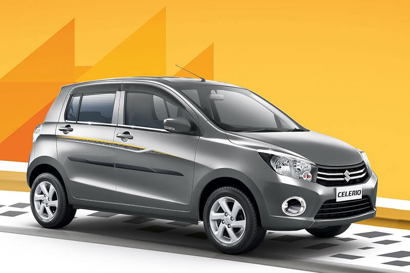 Maruti Celerio Limited Edition Side Profile