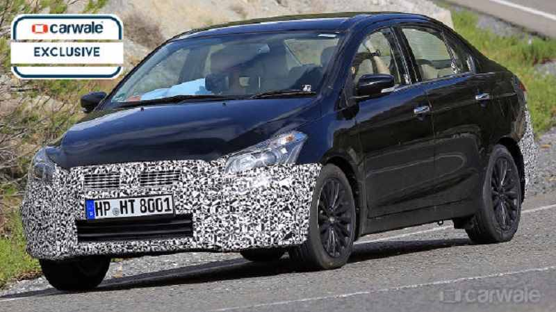 Maruti Suzuki Ciaz facelift spied in Spain