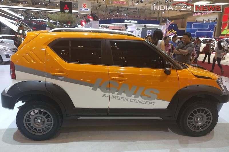 Maruti Suzuki Ignis S-Urban Concept Side Profile