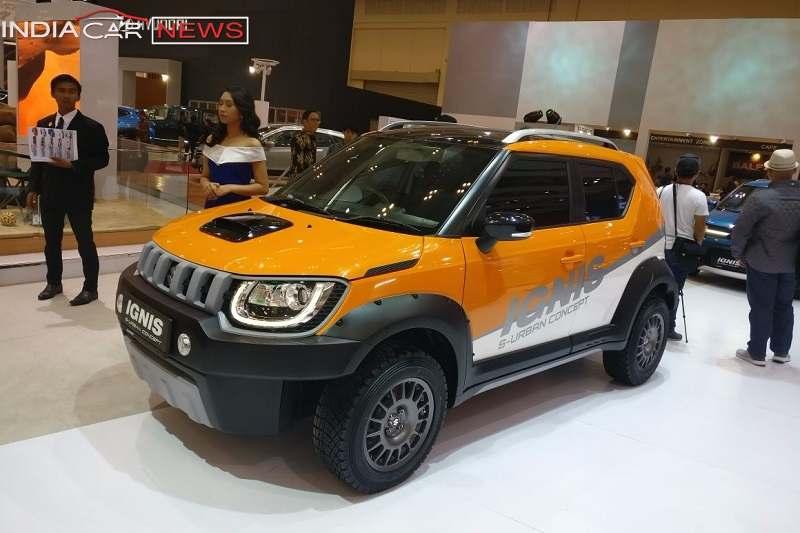 New Cars 2018 Indonesia >> Maruti Suzuki Ignis S-Urban Unveiled - Pictures & Details