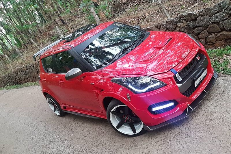 Maruti Swift Modified Like Nissan GT-R