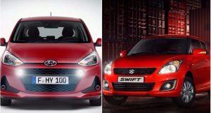 Maruti Swift vs Hyundai Grand i10