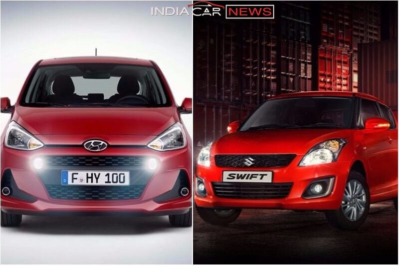 Maruti Swift vs Hyundai Grand i10