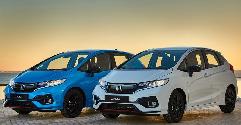New 2018 Honda Jazz Skyride Blue