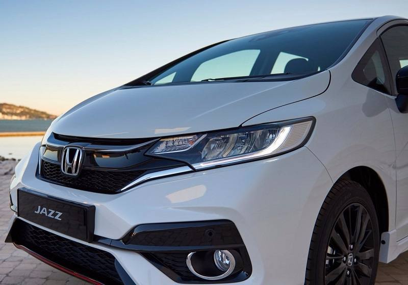 New 2018 Honda Jazz headlight